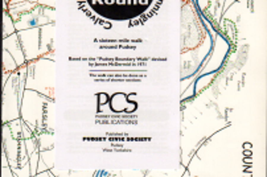 Outline walks - map and Pudsey Round leaflet