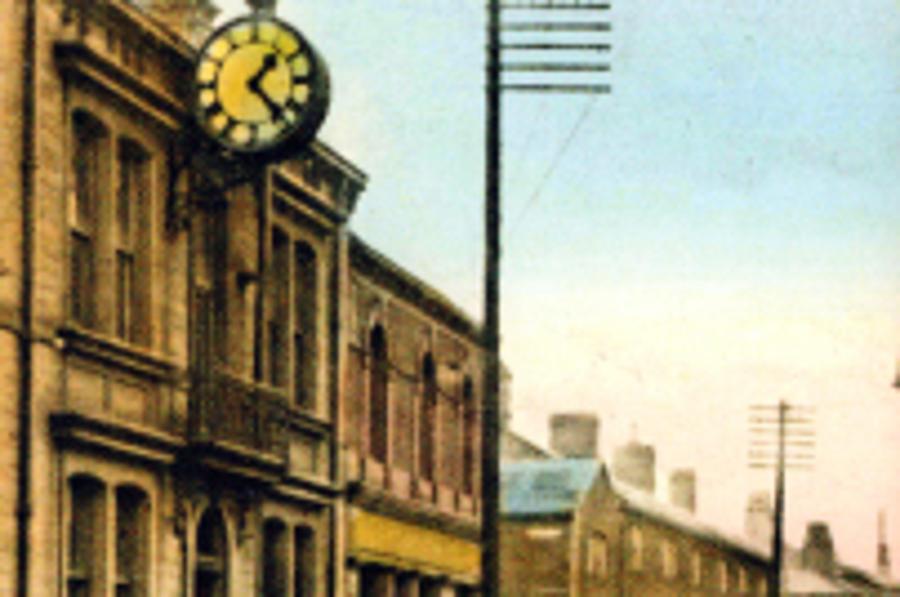 Shitten Street, Stanningley in the 1930's by Elizabeth Naylor