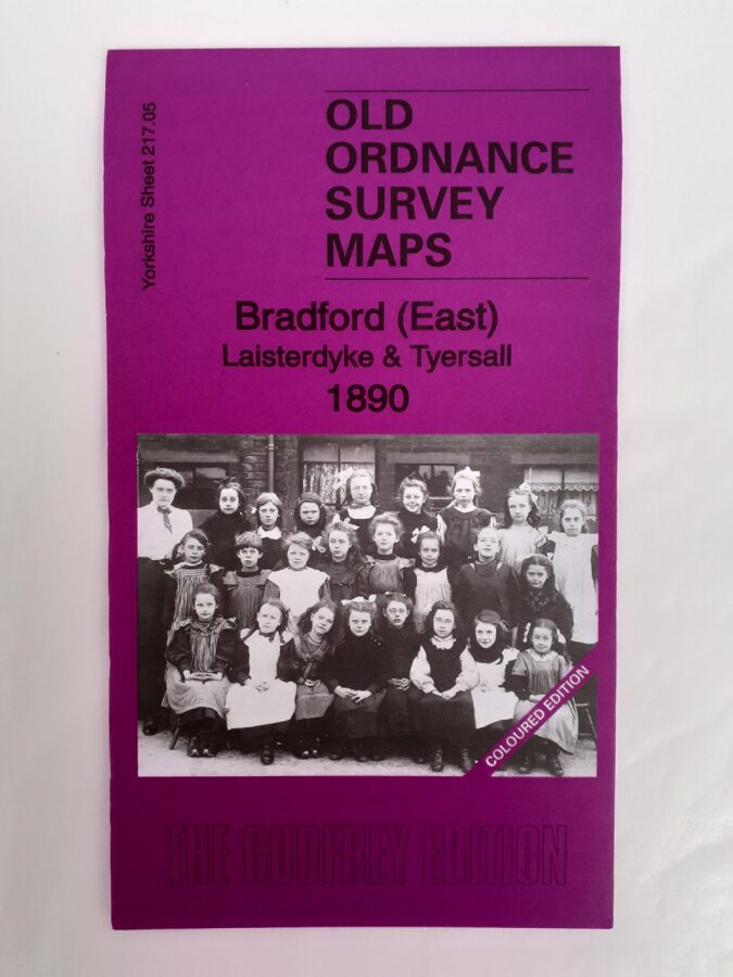 Bradford (East) 1890 inc Tyersal - Coloured